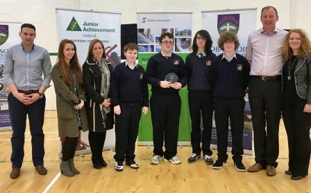 Winners Funky Lamps from Pobalscoil Ghoath Dobhair